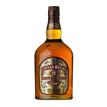 Chivas Regal 12 Years Scotch 1L