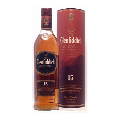 Glenfiddich 15 years 750ml
