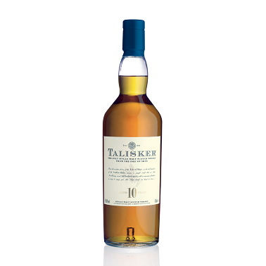 Talisker 10 Year Isle of Skye Single Malt Scotch Whisky 750ml