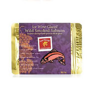 Ice wine glazed smoked salmon 100g